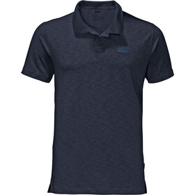 Jack Wolfskin Travel Polo Heren, night blue
